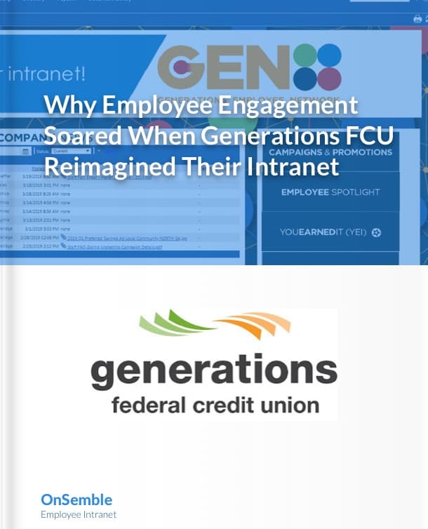 Generations FCU Case Study for Intranet Software