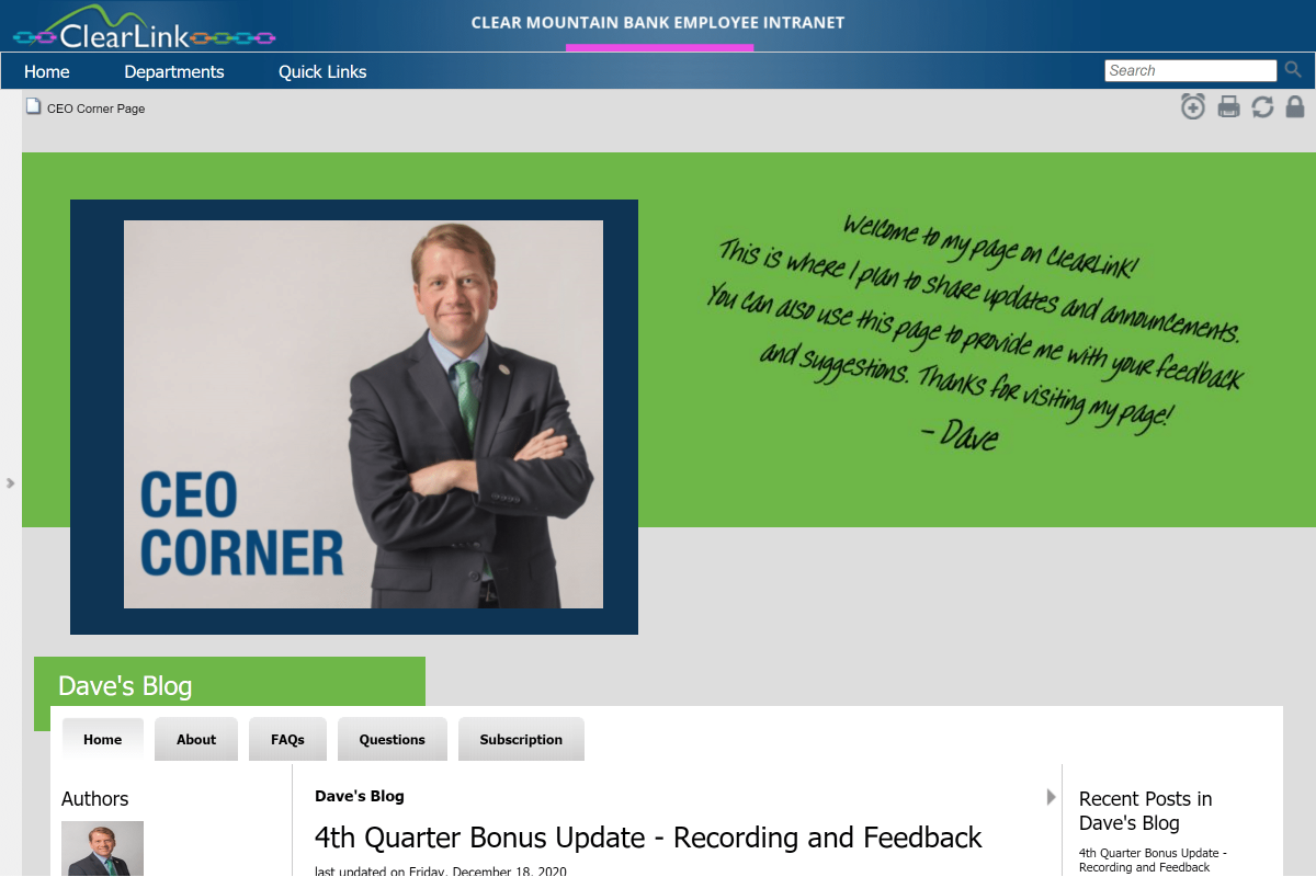 OnSemble employee intranet examples best practices