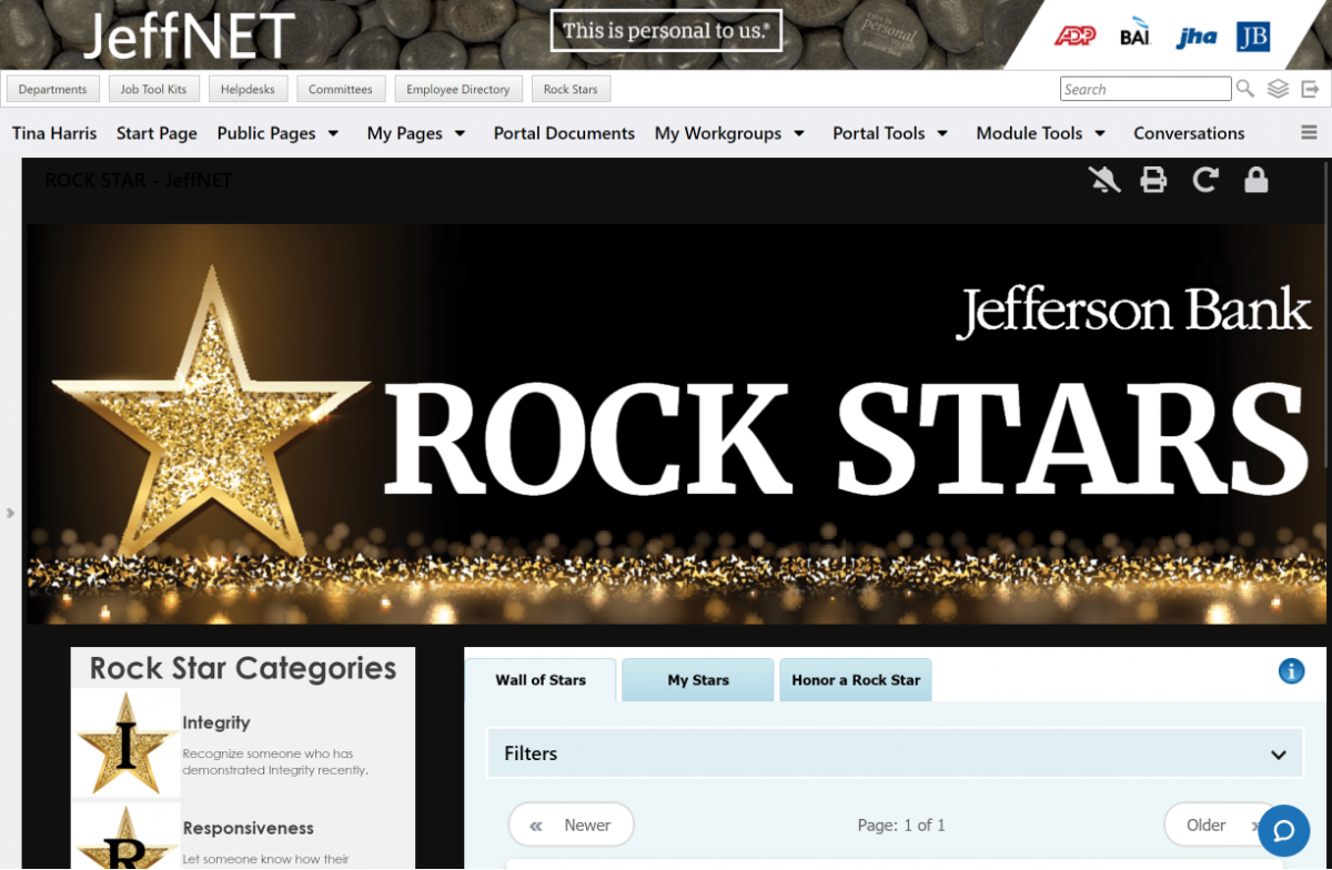 jeffnet cooler best practices for successful intranets